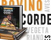 Livro de Receitas de Hamburgers - BBQ EM CASA