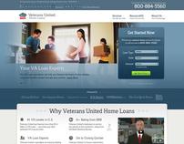 VeteransUnited.com Website Design