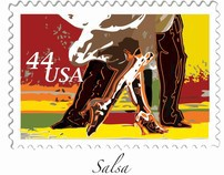 Partner Dances U.S. Mail Stamps
