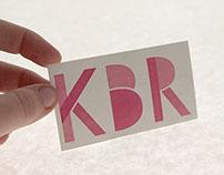 Personal Business Card in Letterpress