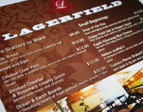 Lagerfield Menu Promotion