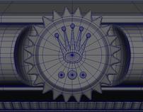 3D Modeling - Rolex Daytona