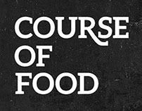 Course of Food - Independent Film Brand Identity