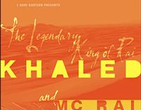 Concert Poster: Sahara Desert Meets San Francisco