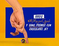 Propuesta Gráfica Concurso Chocolates Jet