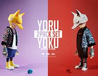 YORU & YOKU vinyl series