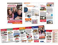"""""""Netzwerk"""" Zeitung & Infoflyer"""