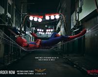 GrubHub Pizza(Spiderman Movie Promo)