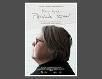 Poster and graphics for documentary: Päevade sõnad