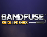 Bandfuse Rock Legends - Lead UI Design