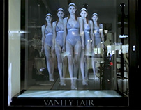 Vitrine holographique Vanity Fair