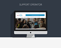 Support Operator - Website design