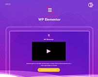 Curso WP Elementor - Logo e Interface