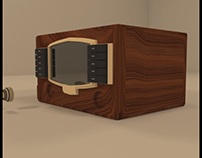 Zenith Retro Radio 3D Composite Video
