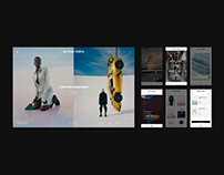 BOTTEGA VENETA / web & app redesign