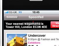iPhone Application - Spoonfed Radar