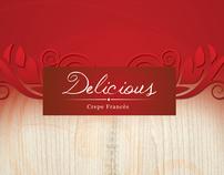 Cardápio Creperia Delicious