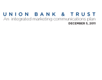 Union Bank & Trust | Plans Book
