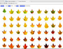 Fall Leaves (Interactive)