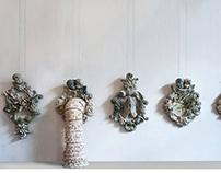 Paradise 2015. ceramic installation. Saint Petersburg