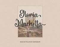 Gloria Machetta - A Modern Script Font