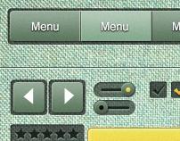 Green machine UI elements
