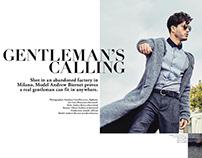 Gentleman's calling