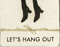 Let's Hang Out | party invitation