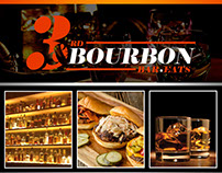 Bourbon Bar Flyer