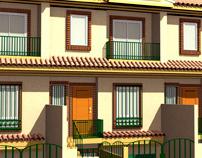 Proyect 3d (viviendas unifamiliares)