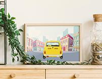 Fiat 126p - Illustration