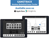 GameTrack Basketball Tracking App