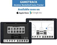 GameTrack Basketball Tracking App