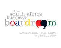 Event Look & Feel: The South Africa Business Boardroom