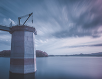Crane Tower in Infrared