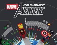 Marvel Avengers Infographics