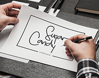 Sugar Candy Signature Typeface