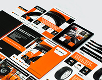 Davanti Tyres branding and launch collateral