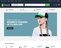 Korando - eCommerce Bootstrap 4 Template