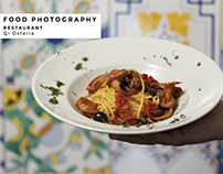 Food Photography for Qi Osteria