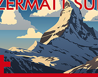 Swiss Air Posters