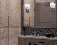 Master bathroom design at SIA office