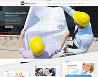 Services WP theme constructions and architecture