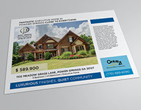 Real Estate Flyer Designs