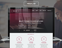 Mega Lab - Website Design