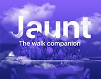 JAUNT - App design
