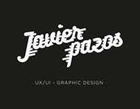 Javier Pazos. Personal Logo.