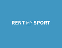 Rent My Sport - App Interface