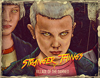 Stranger Things x Village of the Damned