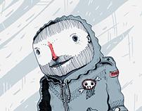 Ola polar. Abrigarse entre grises. So cold!